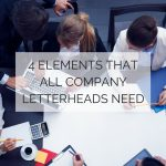 4 Elements that all Company Letterheads Need
